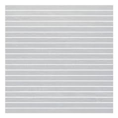Vitra Pietra Pienza Light Grey Mosaic Strips 30 x 30cm