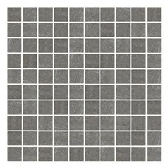 Vitra Pietra Pienza Dark Grey Mosaic 30 x 30cm