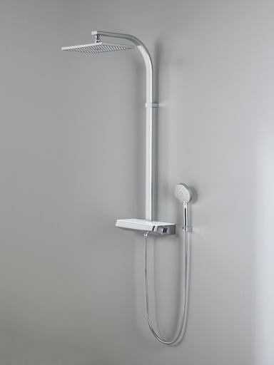 Porcelanosa Balans Thermostatic Column Shower