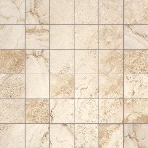 Sanmarco Beige Mosaic Tiles 33 x 33cm