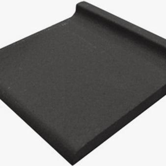 Quarry Tile - Cove Tail Black 15 x 15cm
