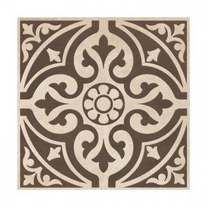 Devonstone Feature Brown Satin - 33cm x 33cm