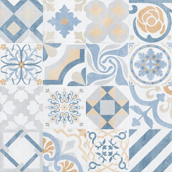 Provenza Blanco Decor 750 x 750 Tiles