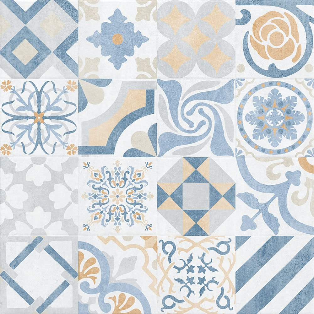 Provenza Blanco Decor 750 x 750 Tiles 1