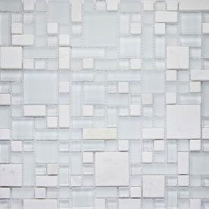 Metallic Orion Modular Mix Mosaic Tile 29.7 x 29.7cm