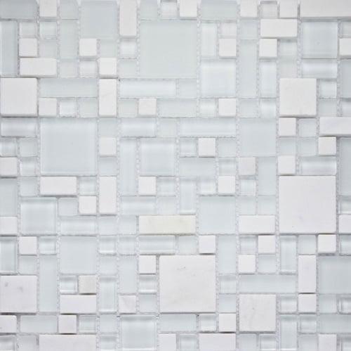 Metallic Orion Modular Mix Mosaic Tile 29.7 x 29.7cm