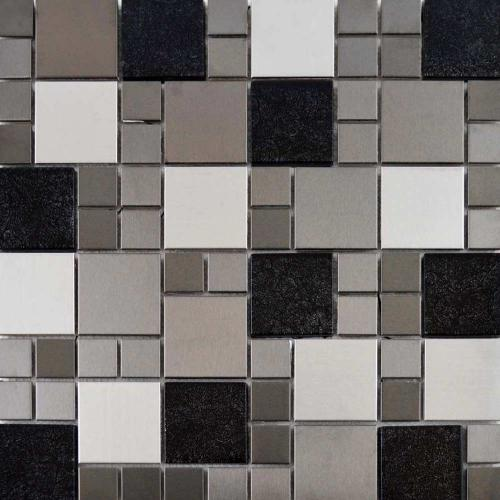 Metallic Mix Mosaic Tile 29.7 x 29