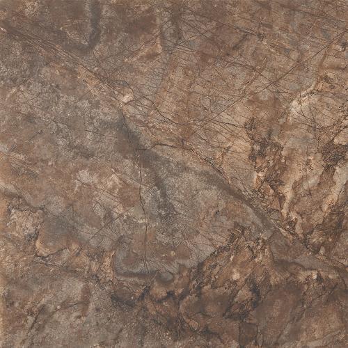 Coba Marron Marble Effect 750 x 750mm Floor Tiles