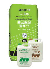 Latex Screed | Bag & Bottle | ScreedPro Latex