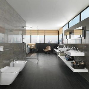 Porcelanosa Shine Aluminio 33.3 x 59.2cm LEADING PORCELANOSA SUPPLIERS