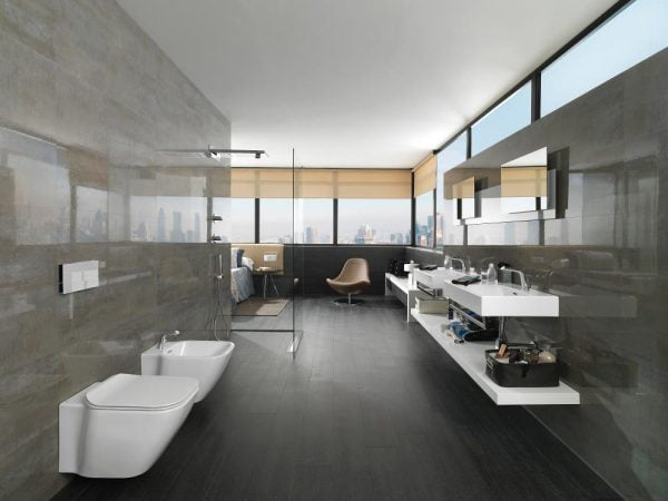 Porcelanosa Shine Aluminio 20 x 33cm LEADING PORCELANOSA SUPPLIERS