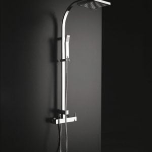Porcelanosa Tina Thermostatic Column Shower