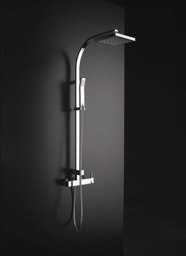 Porcelanosa Tina Thermostatic Column Shower