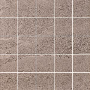 Vitra British Stone Mosaic Grey 30 x 30cm