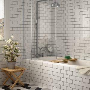 Liso Blanco Brillo (Gloss) 200 x 100mm Tiles