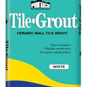 Palace White Tile Grout 10Kg