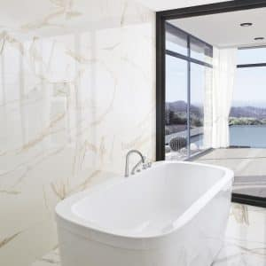 Calacata wall tiles
