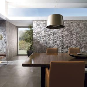 Suede wall tiles