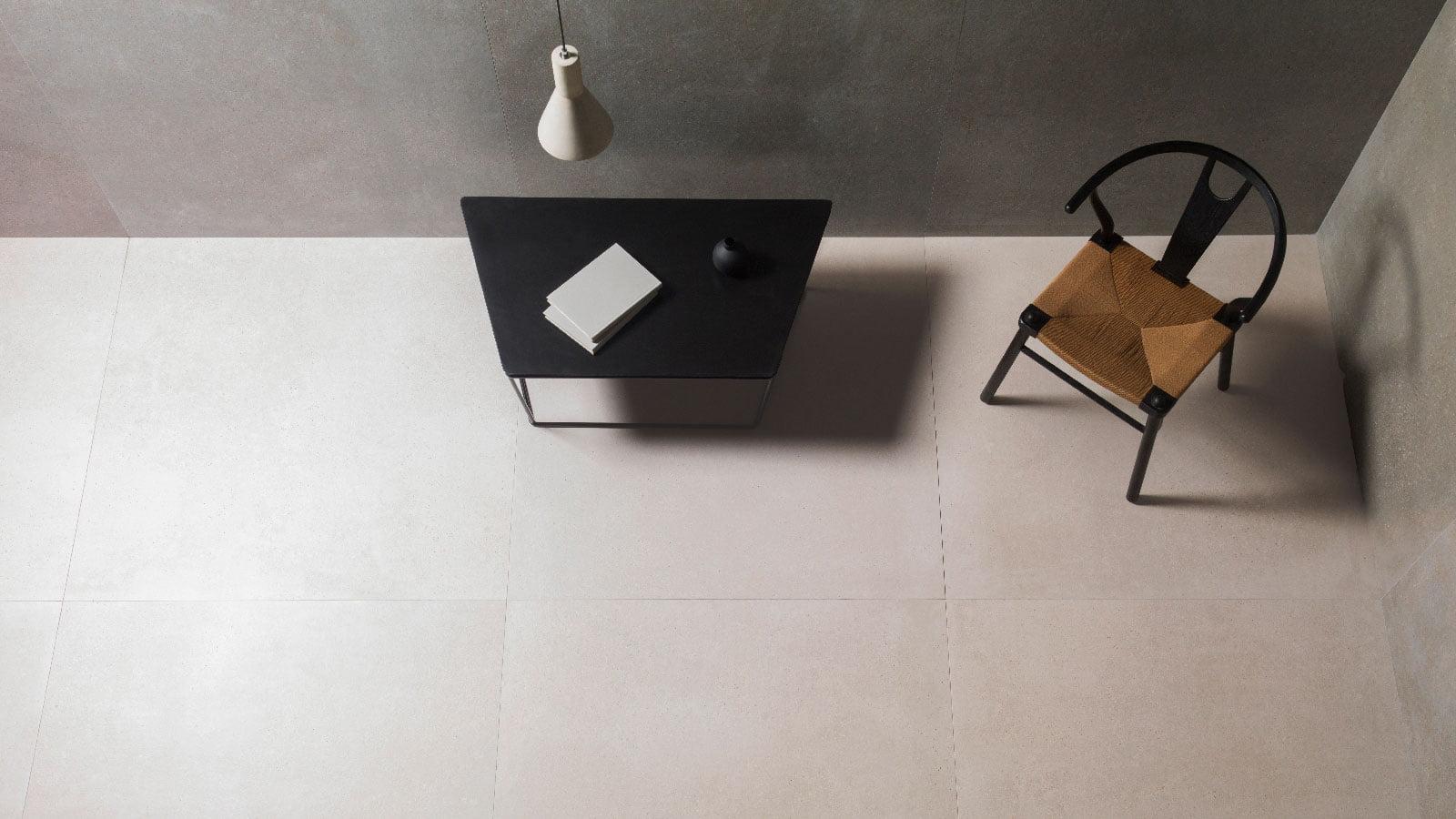 bottega white 44.3×44.3cm