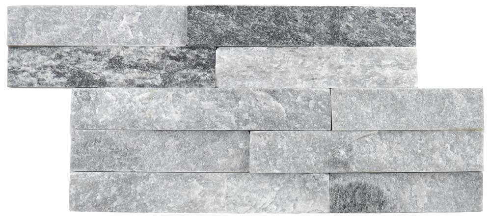 ledgestone ice sparkle grey 150×300