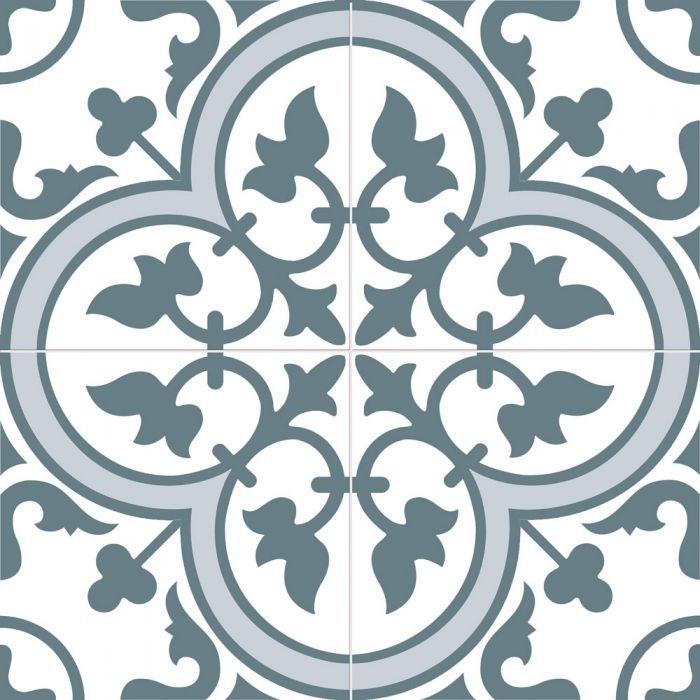 bourton marine blue tiles